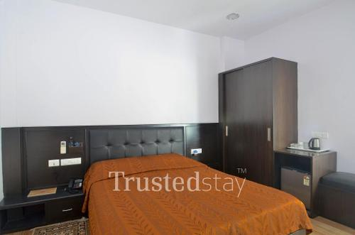 Service apartment in Begumpet, Hyderabad - Bedroom