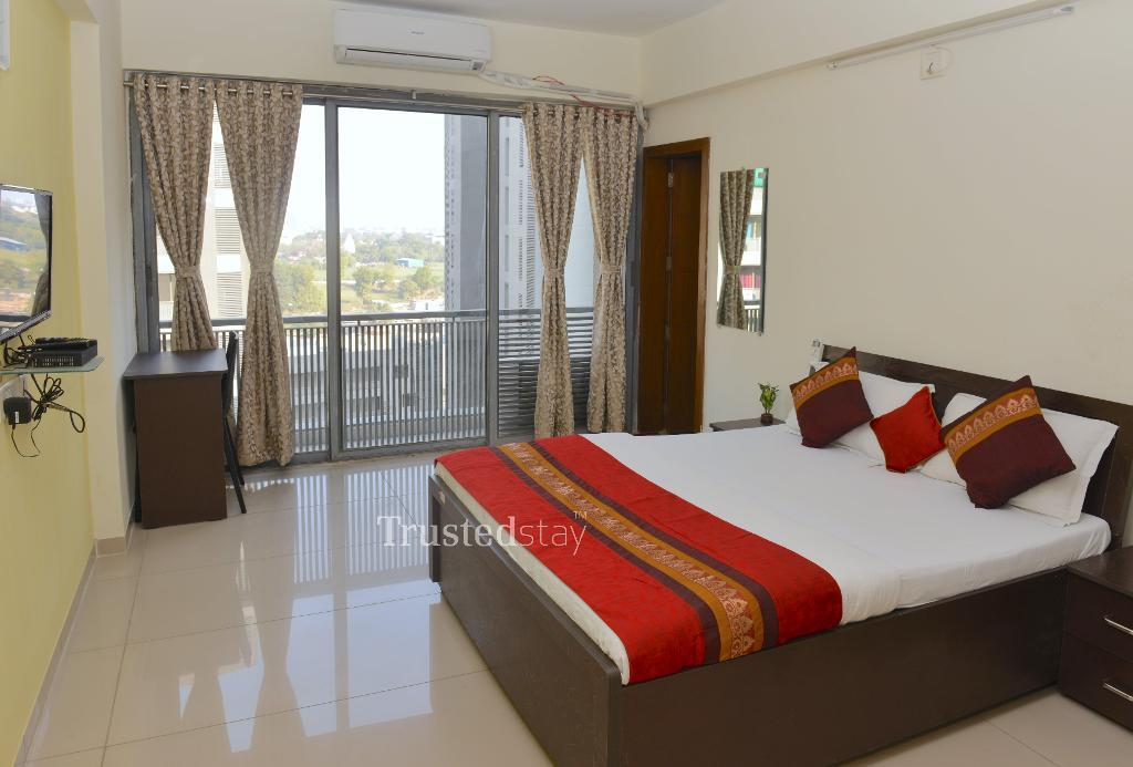 Service apartments | Ahmedabad - Bedroom