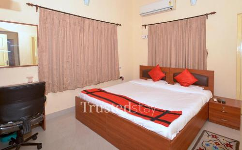 Service Apartments in Salt lake - Kolkata | Master Bedroom