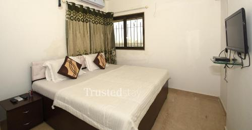 Fully Furnished Service Apartments in Kanjurmarg, Mumbai  | Bed Room