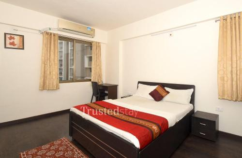 Service apartment Bopal, Ahmedabad, Master bedroom