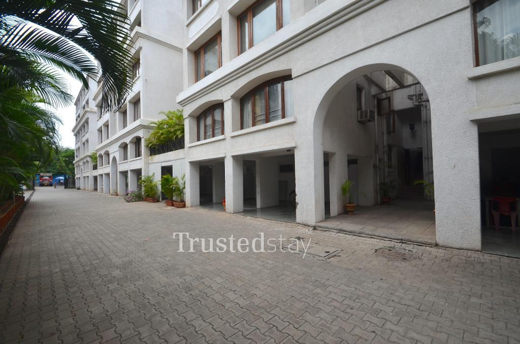 Service Apartments in Koregaon Park, Pune - Front View