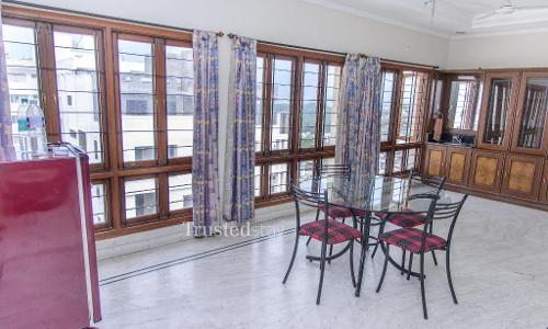 Service Apartments in Banjara Hills , Hyderabad, Dinning area