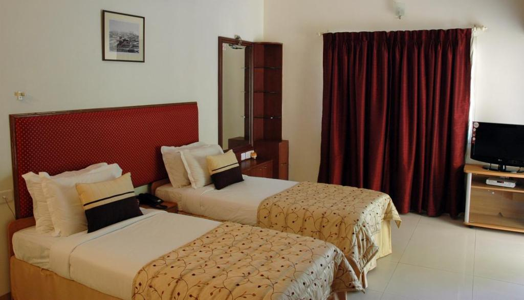 Service apartments in Mylapore, Chennai - Master Bedroom