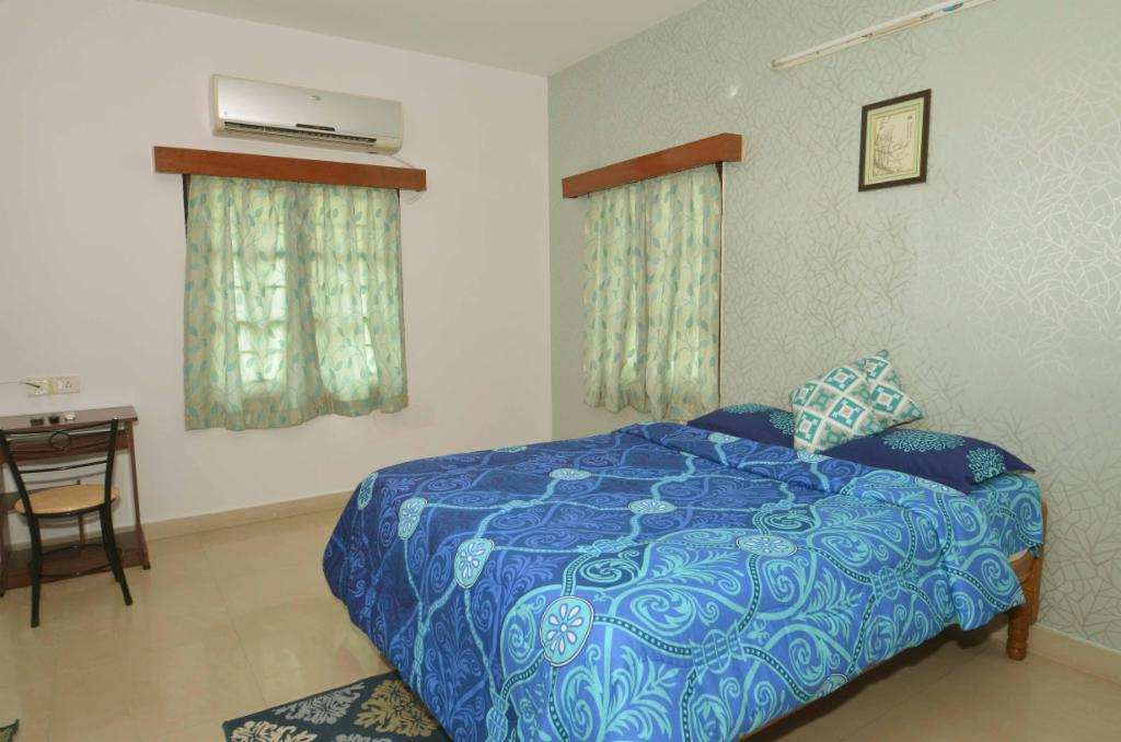 TrustedStay Service Apartments in Ramapuram, Chennai - Master Bedroom